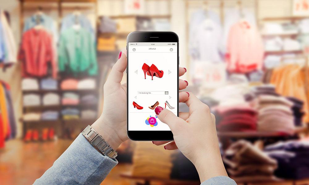 Création d'applications mobiles pour la vente et les commerçants