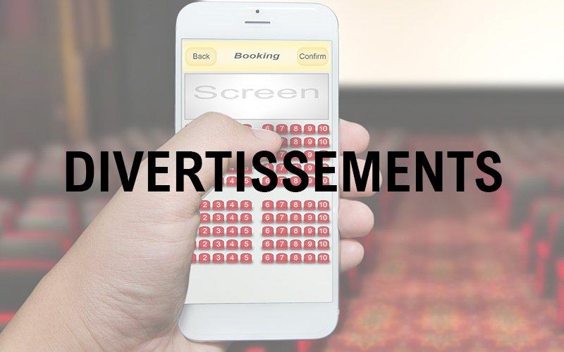 applications mobiles professionnelles - solution métier divertissements