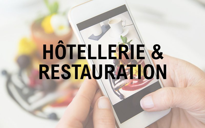 applications mobiles professionnelles - solution métier hôtellerie restauration
