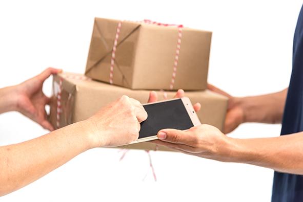 Services de livraison - applications mobiles