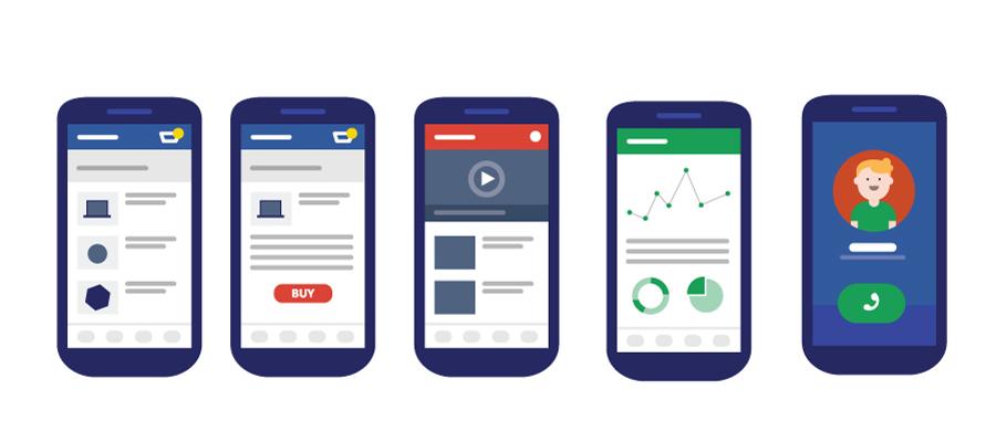 fonctionnalités pour applications mobiles professionnelles